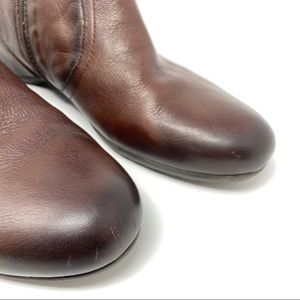 PIKOLINOS Shoes - Pikolinos Brown Leather Flat Ankle Boots